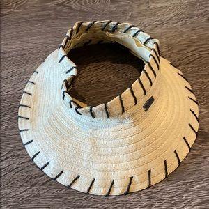 Roxy straw visor hat